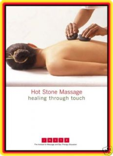 Hot Stone Massage Video on DVD 18 PG Manual Certificate