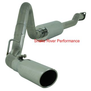 MBRP Exhaust 1998 2011 Ford Ranger 3 0 4 0L Cat Back Single Side
