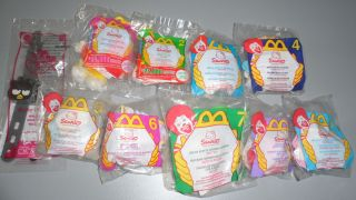 McDonalds Happy Meal Hello Kitty Sanrio Lot
