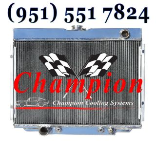 Champion Cooling 3 Row 1967 1968 1969 1970 Mustang Ranchero Torino