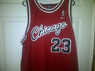 Michael Jordan 23 Chicago Bulls Nike Throwback Jersey XXL