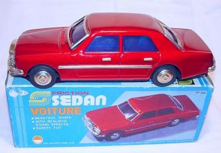 MF 254 China Mercedes Benz 280 Car Tin Friction MIB`80