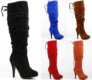 High Heel Tall Fashion Knee Boot Anne Michelle Captivate 03