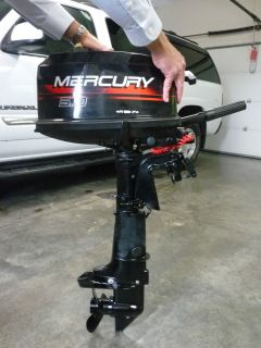 Mercury Outboard Motor 5HP Marine Boat Engine