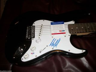 RARE Mick Taylor Signed Rolling Stones Guitar Certified by PSA DNA
