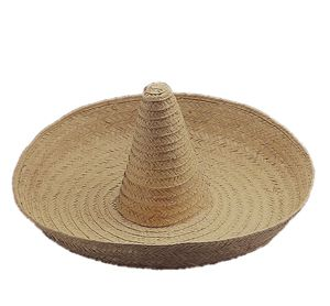 Zapata Straw Spanish Mexican Fiesta Sombrero Hat Adult Costume