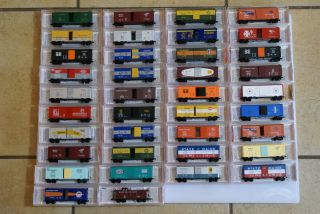 MICRO TRAINS LINE RARE SPECIAL RUN 6464 COLLECTOR SERIES COMPLETE SET