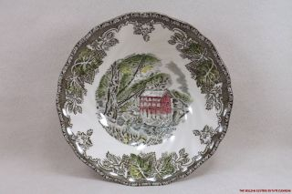 JG12 Johnson Bros Cereal Bowl The Old Mill Friendly Village
