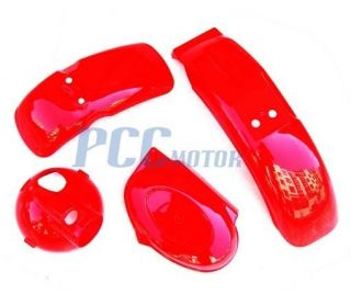 Plastic Fender Kit Honda Mini Trail Monkey Bike Z50 50R PS64