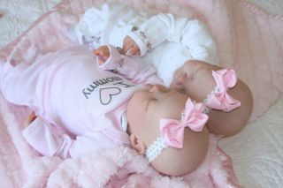 Twin Reborn Baby Doll Girls Serah by Newborn Love Nursery