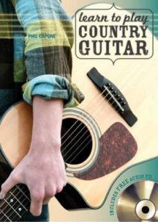 Learn to Play Country Guitar by Phil Capone 2012, Paperback