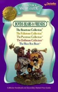Boyds Bears Collection Limited Resin 2000 by CheckerBee Publishing