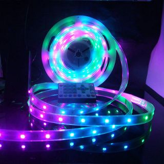 16ft 32ft 49ft 65ft RGB LED chasing magic dream color strip for bar