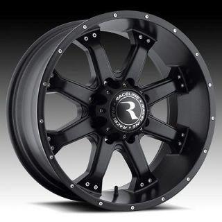 20 Inch Black Raceline Assault Wheels Rims Dodge Ram 2500 8x6.5 20x9