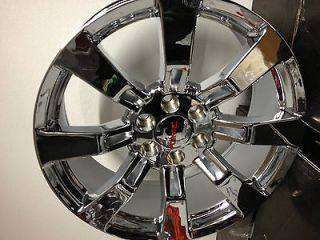 20 Inch Chrome GMC Sierra Yukon Denali Factory OE GM Accessory Wheels