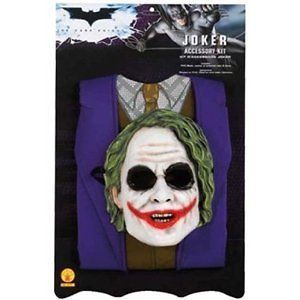 THE JOKER Batman Dark Knight Costume Accessory Kit A50