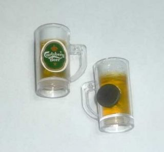 CARLSBERG Beer Glass Edition FRIDGE MAGNET Novelty