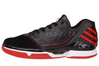 Adidas AdiZero Rose 2 Low Black Chicago Bulls 2012 Mens Basketball