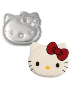 Wilton Hello Kitty Cake Pan Cake Decorating Bakeware Aluminum New