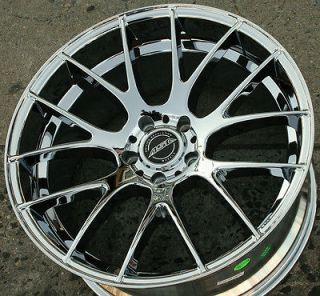 ASA GT5 20 CHROME RIMS WHEELS HONDA PILOT 09 up / 20 x 10 5H +32