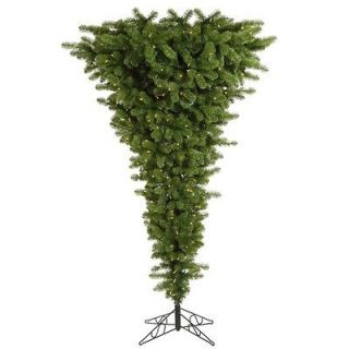 Vickerman 9 Upside Down Artificial Christmas Tree in Green A107481