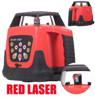 Self leveling Rotary / Rotating Laser Level Red 500m Range with case