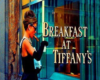 Audrey Hepburn In Breakfast At Tiffanys Pop Art Canvas 16 x 20