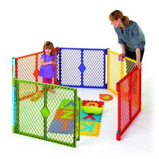 States Classic Superyard Baby/Pet Gate & Portable Play Yard   8 Panel