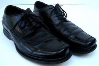 Bacco Bucci Mens Black Oxford Dress Shoes Size 11 D