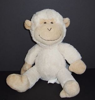 Pottery Barn Kids Outlet Cream Tan Monkey Soft Plush Stuffed Baby