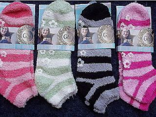Newly listed 4 PAIR BUTTER SLIPPER SOCK NON SKID SOLE