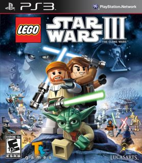 LEGO Star Wars 3 III The Clone Wars PS3 Video Game BRAND NEW SEALED