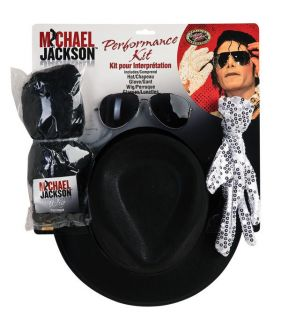 MICHAEL JACKSON KING OF POP COSTUME PERFORMANCE KIT NEW