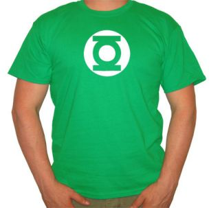 THE BIG BANG THEORY GREEN LANTERN FUNNY MENS T SHIRT JF217