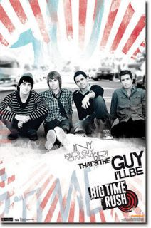Big Time Rush BTR Big Time Any Kind Of Guy Poster