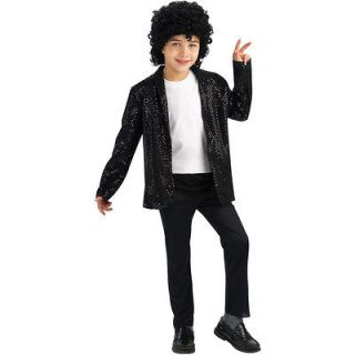 Michael Jackson Deluxe Billie Jean Jacket Child billie