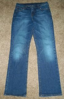 PRE OWNED LUCKY BRAND STRETCH BOOTCUT CLASSIC JEANS JUNIOR SIZE 9 11