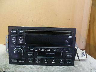 95 02 Buick Radio Cd Cassette Player Regal Park Avenue Riviera