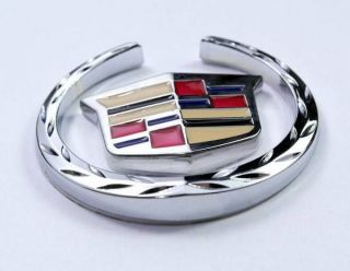 Badge Sticker Emblem Shield For Cadillac XTS SRX XLR (Fits Cadillac