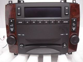 2007 CADILLAC CTS SRX Navigation GPS Radio Stereo CD Player