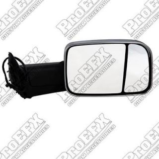 2009 2013 DODGE RAM CAMPER MIRROR  ELECTRIC HEATE D CHROME REPLACEMENT