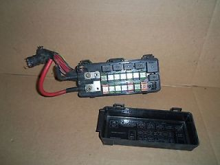 Fuse Relay Junction Box Panel Center fuses relays fusebox under hood