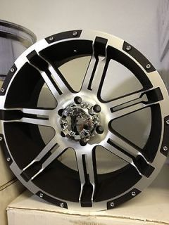 Vrock Overdrive Wheels Rims Chevrolet Silverado Tahoe Colorado 18
