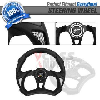 CHEVY S10 SUBURBAN STEERING WHEEL BATTLE TYPE 320MM WHOLE BLACK