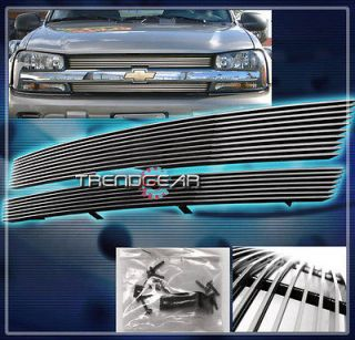 02 05 CHEVY TRAILBLAZER FRONT UPPER BILLET GRILLE GRILL 03 04 EXT LS