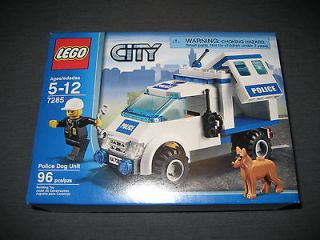 Brand New & Sealed Lego City Police Dog Unit 7285
