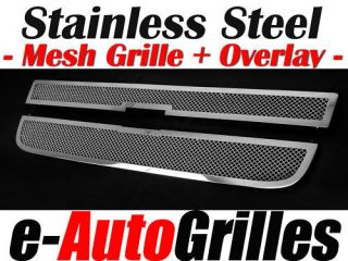 03 11 Chevy Express Van Chrome Mesh Billet Grille Grill Stainless