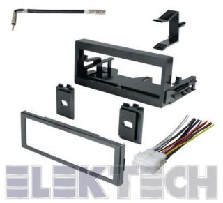 SUBURBAN CHEVY RADIO STEREO DASH MOUNTING KIT W/HARNESS (Fits 2002