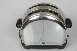 Sunbeam Model T 9 Chrome Bakelite Toaster Clean Working ART DECO