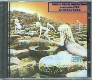 LED ZEPPELIN HOUSES OF THE HOLY REMASTER SEALED CD NEW